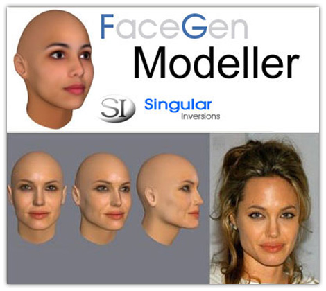 FaceGen Modeler v3.5.3 + FaceGen Customizer v1.3.1 + Hair Models торрент