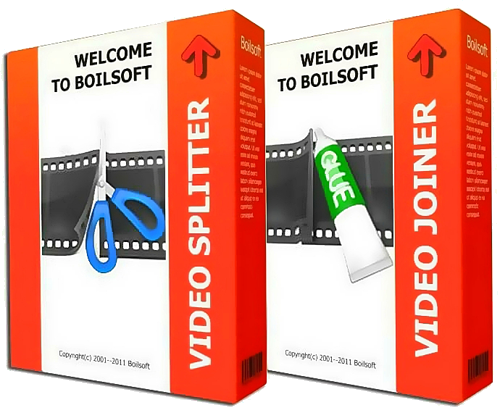 Скачать Boilsoft Video Joiner v7.02.2 + Boilsoft Video Splitter v7.02.2 торрент